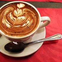 Kaffe på bord