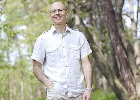 Bertil Wosk utomhus