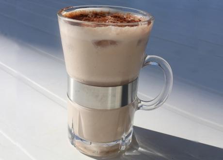 Cashewnötsmjölk med choklad