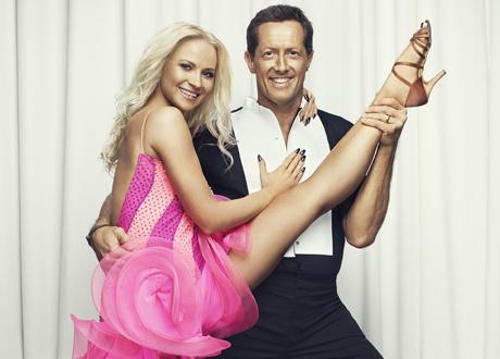 Let's Dance. Veera Kinnunen och Jonas Björkman.