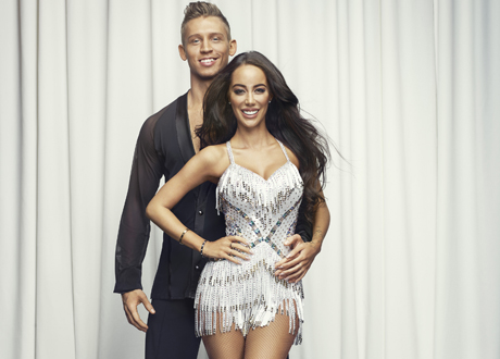 Let's Dance. Alexander Svanberg och Rebecca Stella.