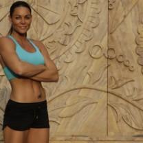 Biggest loser-PT:n Sabina Dufberg i träningskläder