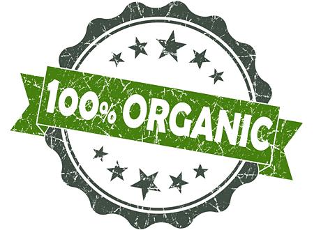 märke 100 % organic