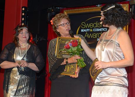 Irene von Arronet vid prisutdelningen