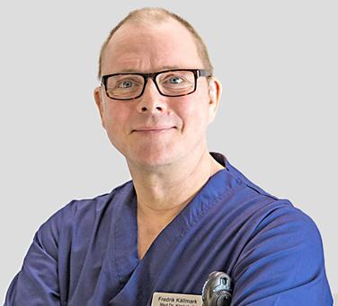 Medicine doktor Fredrik Källmark.