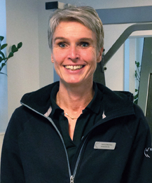 Fysioterapeuten Magdalena Hanson.
