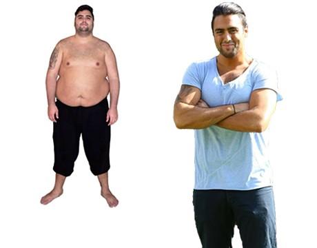 Träning och kostschema för viktnedgång