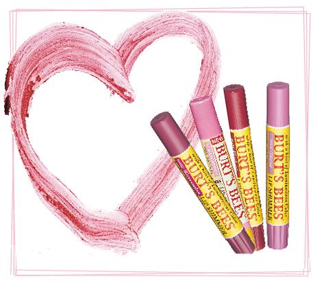 Våriga och vackra läppar - med naturligt läppbalsam