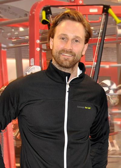 Henrik Petré, träningsrådgivare och testledare på Concept for Life