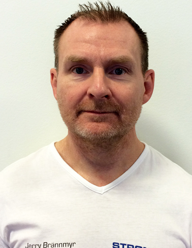 Jerry Brännmyr, styrkecoach och rehabiliteringsspecialist