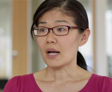 Teresa Liu-Ambrose, åldrandeforskare. Foto: SVT
