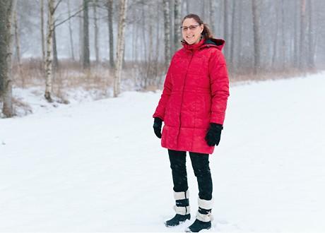 Christina Bång. Foto: Fotograf Charlotte