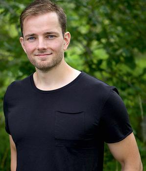 """David Jonsson, hälsoutvecklare och aktuell med boken """"Magsmart"""""""