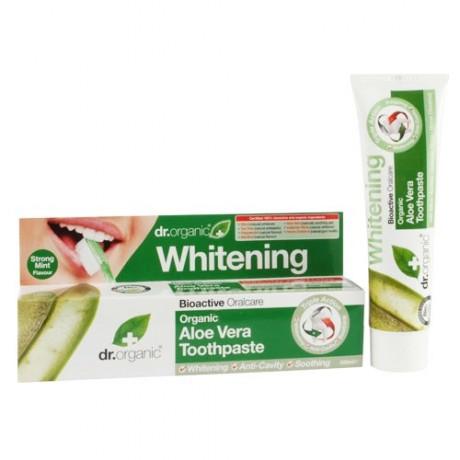 tandkräm med aloe vera från dr.Organic.