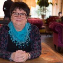 Ann-Marie Andersson på kafé