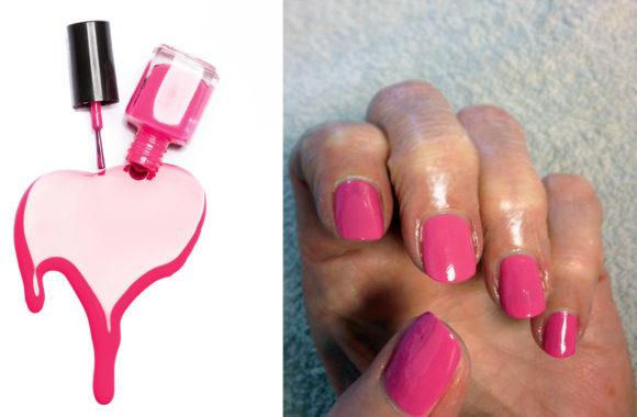 hand naglar nagellack