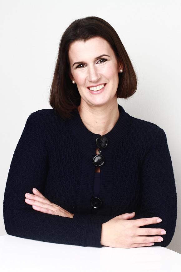 Hudvårdsexperten Emma Bergqvist på Weleda.