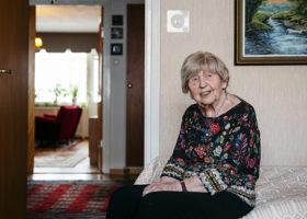 Dagny Carlsson, 105 år