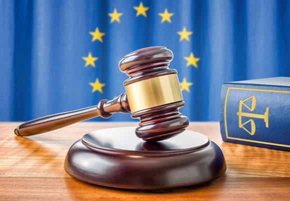 Domarklubba lagbok och EU-symboler