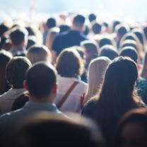 anonym folkmassa