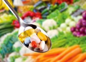 grönsaker och kosttillskott
