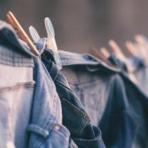 Kläder på tork