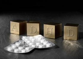 adhd i bokstäver och medicinkarta