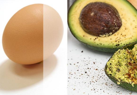 ägg avokado