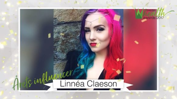 Linnéa Claeson kunde tyvärr inte komma men skickade en videohälsning