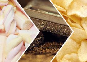 godis choklad chips