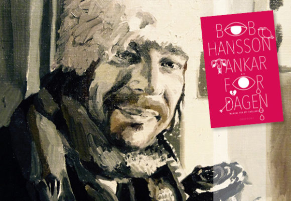 porträttmålning bob hansson boken tankar för dagen