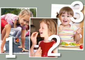 Tre tips för barnens hälsa