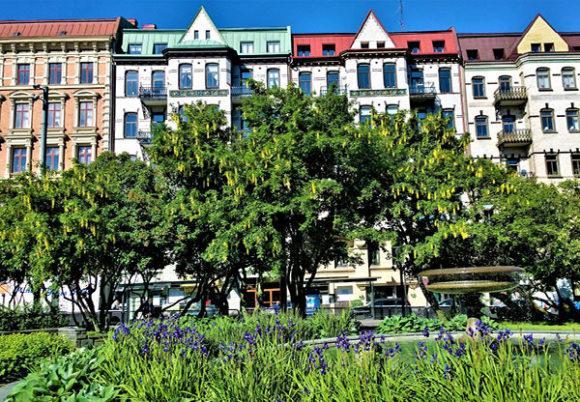 grönområde i Göteborg