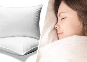 kvinna sover kudar