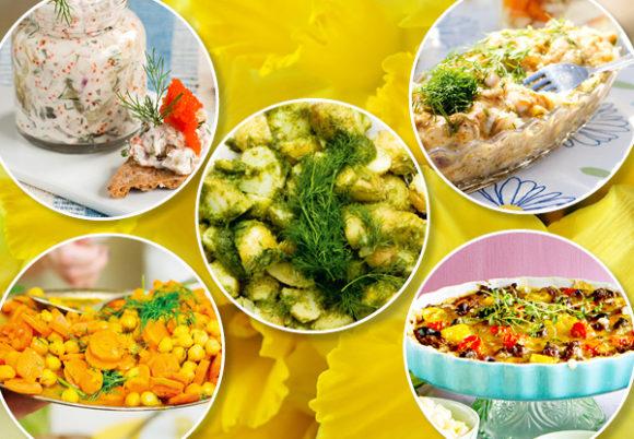 fem veganska rätter till påskbordet