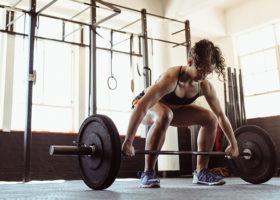 tyngdlyftare och joggare