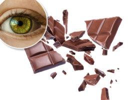 choklad öga