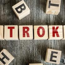 blocks spelling the word stroke