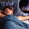 kvinna som vaknar, drömlandskap B6