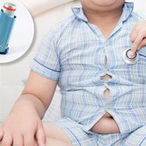överviktigt barn astmaspray
