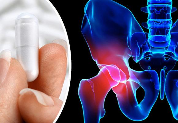 höftben och probiotikakapsel