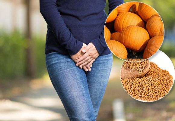 kvinna kniper sojabönor pumpa