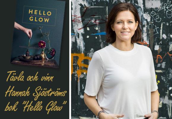 Boken Hello Glow och Hannah Sjöstrlm