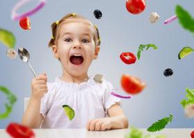 barn grönsaker