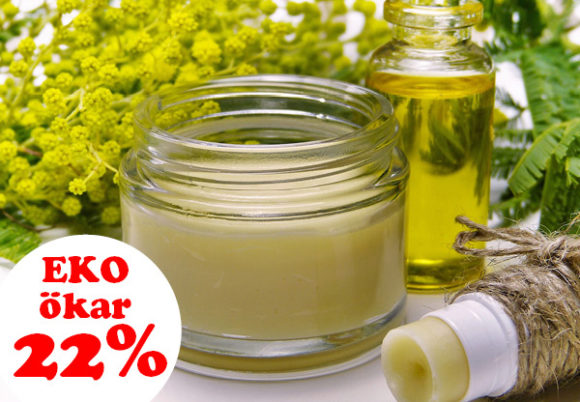 hudkräm växter 22 procent