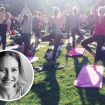 yoga i tantolunden yogaläraren anna gordh humlesjö