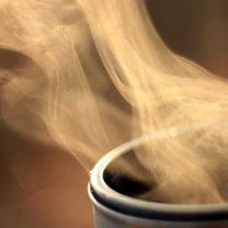 hett kaffe