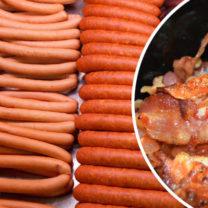 korv och bacon