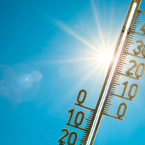 termometer sol