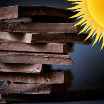 choklad och en sol